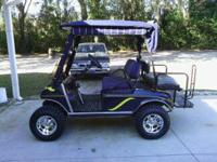 05 club car golf cart IQ, 48 volt, charger, new jakes