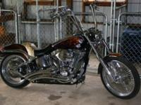 I have 05' Custom Soft Tail Deuce For Sale !! Custom