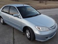 05 Honda civic hybrid 4 door, 4 cyl, auto, a/c, all