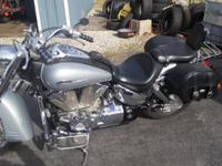 05 Honda VTX 1300S. Super clean and well maintained.