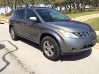 Fully loaded Nissan Murano SL. The SL model comes with