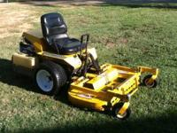 05 walker riden mower, Mulcher 18hp motor 42 inch deck