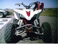 '05 Yamaha YFZ 450 has White Bros. exhaust, k&n air