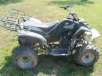 I have for sale a Zebra 150 ATV. It has been a good ATV