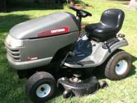 2006 Craftsman Lawnmower with a 42' deck, 18.5 Briggs