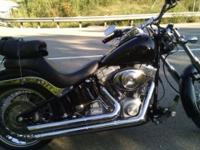 06 Harley softail standard 6200 miles on clean bike.