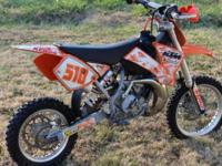 2006 KTM 65 EXTRA CLEAN - The bike looks just as clean