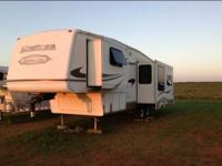 5th wheel that has been converted to a gooseneck (can