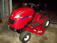 For sale is a 06' Toro XL 460 lawn tractor, excellent