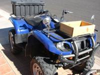 '06 Yamaha Grizzly 660 cc ATV E/W on-command 4X4,