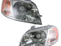 07-08 Chevy Aveo Headlights Headlamps Left & Right Lamp