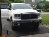 Chrome front bumper from a 2008 Toyota Tundra. ought to