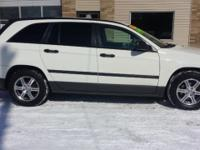 For sale is a 2007 Chrysler Pacifica. This crossover
