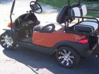 2007 48 VOLT CLUB CAR PRECEDENT IQ GOLF CART FULLY