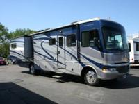 2007 Fleetwood Fiesta 35' motor home with Ford V10 and