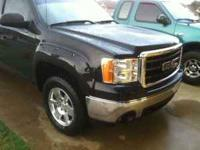 2007 GMC SIERRA CHROME BUMPERS. OFF OF 07 SLE Z71 WITH