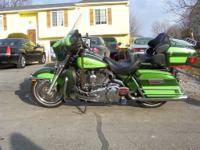 I have an Ultra Classic Harley Davidson custom color
