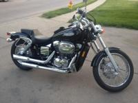 2007 Honda Shadow Spirit VT750 In the nick of time for