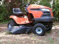 2007 husqvarna riding lawn mower with hydrostatic