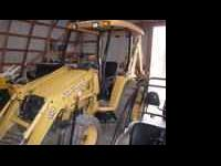 2007 John Deere 110TLB backhoe with only 489 hrs on it,