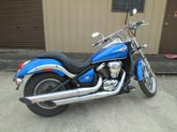 2007 Kawasaki Vulcan 900 Custom. It has 26K miles on it