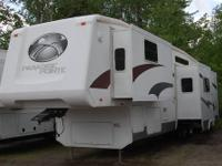 Paradise Pointe 35SL by Crossroads. Excellent rear view