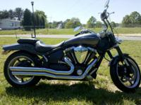 I have a 2007 Yamaha Road Star Warrior for sale. It has