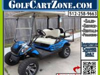 Tidy Northern Cart.  This golf cart is fresh onto the