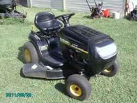 This mower has only been used sparenly, like new