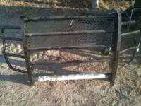 New grill guard for sale fits the 08-10 Ford SD.