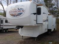 2008 BIGHORN 3600RL FIFTH WHEEL IN STOCK NOW!This unit