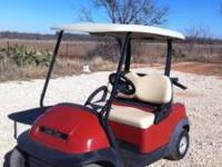 08 club car precedent with NEW BATTERIES, newly