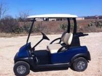 08 Club Car Precedent with new body, new tinted