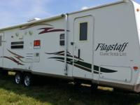 2008 Forest River Flagstaff in wonderful condition.