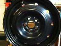 I have for sale a set of 4 stock steel wheels. They are