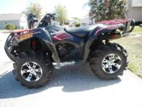 2008 KAWASAKI BRUTE FORCE 750i... 2008 QUAD OF THE