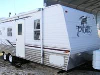 JUST IN TODAY, A GREAT MEDIUM SIZED TRAVEL TRAILER