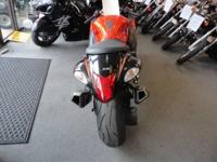 2008 SUZUKI HAYABUSA GSX1300RK8 MILES: 10741 THIS IS A