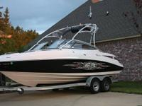 2008 Yamaha AR230 Wakeboard boat. Boat was mostly used