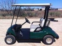 08 Yamaha Drive gas golf cart with tinted windshield,