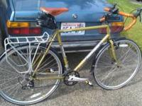 Im am selling my 2009 novara randonee. 59cm frame Low