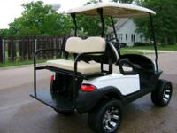 "2009 Club Cart ""President, Signature Series"" 48Volt"