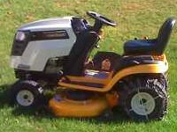 20hp.,46in. cut, under 42 hr.on it,like new . call  can