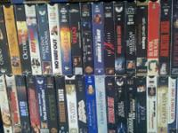 $1.00 Movies - Hundreds of them! Free VHS Players! 400