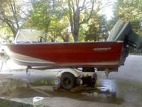 Water-ready for summer fun! 14' aluminum Starcraft,
