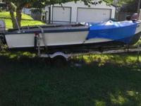 I have a 1959 19' foot Crestliner boat with a Johnson