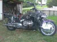 I have a 1990 Honda Goldwing 1500. I layed the bike