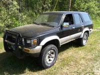 1990 Toyota 4Runner 3.0L Fuel Injected V6 5-speed 4x4
