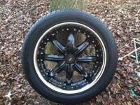 """These are 20"""" Dale Earnhardt American Racing Octane"""
