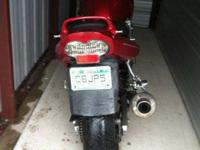 I have a 2001 Suzuki Bandit 600s for sale. It has about